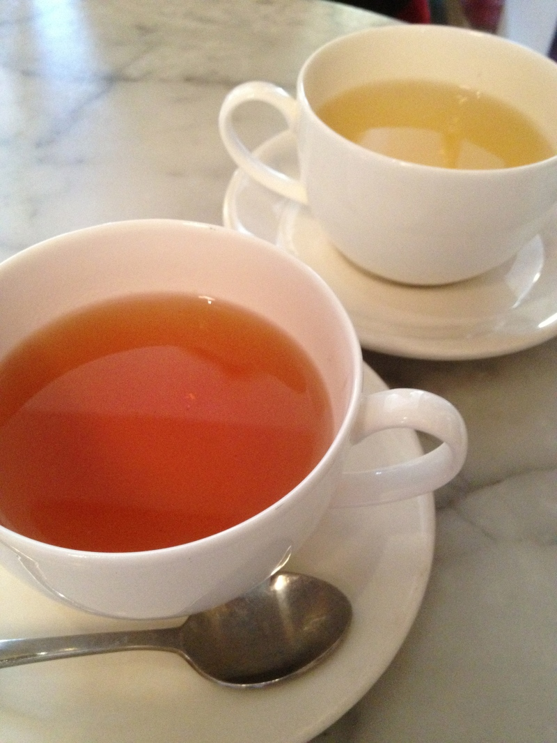 Earl Grey and Peppermint Tea at Gertrude Street Enoteca